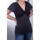 Knoten-Shirt 2-farbig