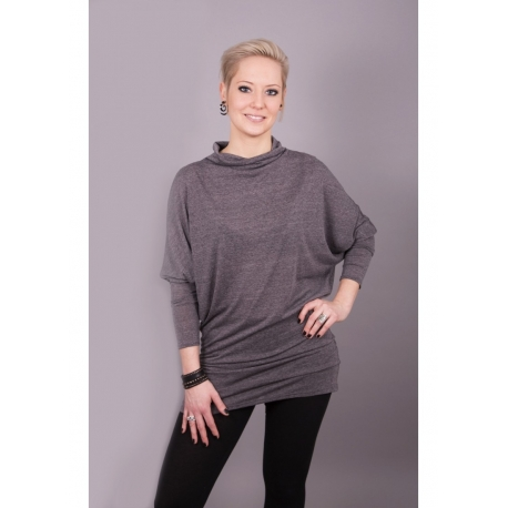 9d048a01688d Shirt mit Fledermausärmeln grau - Bluehalo.de Mode, Wasserfall ...